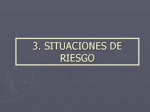 3. SITUACIONES DE RIESGO