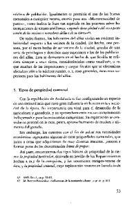 3. Tipos de propiedad comunal