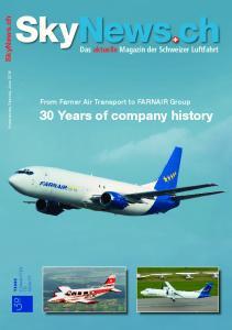30 Years of company history