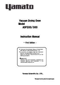 300. Instruction Manual