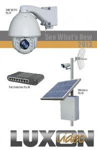 300 IR PTZ Pg 27. See What s New PoE Switches Pg 34 Wireless Pg 15