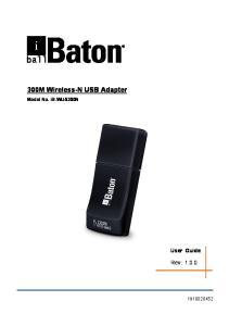 300M Wireless-N USB Adapter