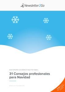 31 Consejos profesionales para Navidad