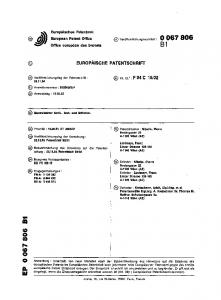 32. (73) Patentinhaber : Nibelle, Pierre Nedergasse 23 A-1190 Wien (AT) (72) Erfinder : Nibelle, Pierre