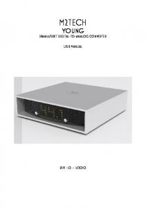32BIT DIGITAL-TO-ANALOG CONVERTER USER MANUAL