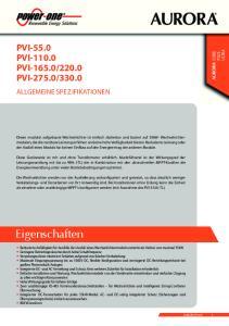 330.0 ALLGEMEINE SPEZIFIKATIONEN ULTRA CORE PLUS