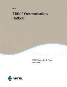 3300 IP Communications Platform