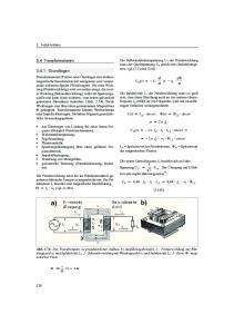 3.4 Transformatoren Grundlagen. 3. Induktivitäten