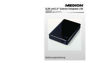 3,5 Externe Festplatte 1TB