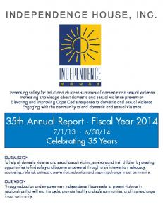 35th Annual Report Fiscal Year 2014