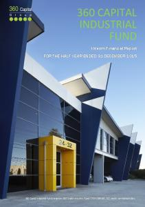 360 CAPITAL INDUSTRIAL FUND