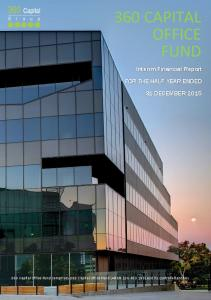 360 CAPITAL OFFICE FUND