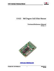 360 Degree Hall Effect Sensor