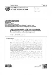 37. United Nations Conference on Trade and Development. United Nations