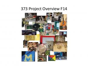 373#Project#Overview#F14#