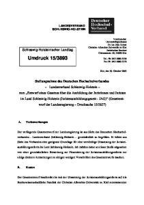 3893. Schleswig-Holsteinischer Landtag
