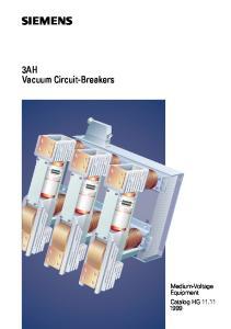 3AH Vacuum Circuit-Breakers