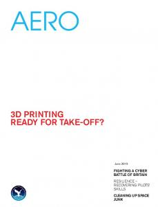 3D Printing ready for take-off?