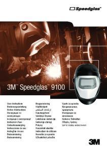 3M Speedglas Upute za uporabu Қолданушының нұсқаулығы Инструкции за използване Kullanıcı Talimatları Οδηγίες Xρήσης