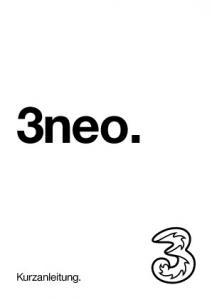 3neo. Kurzanleitung