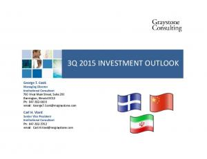3Q 2015 INVESTMENT OUTLOOK
