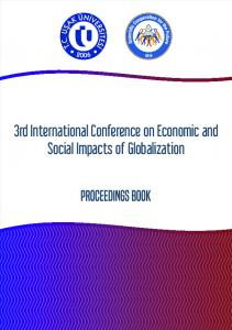 3rd International Conference on Economic and Social Impacts of Globalization