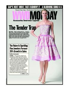 4-5 Women s Wear Daily The Retailers Daily Newspaper June 21, 2004 $2