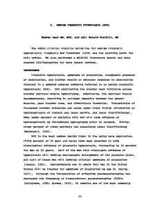 4. BENIGN PROSTATIC HYPERPLASIA (BPH) Steven Asch MD, MPH, and John Roland Franklin, MD
