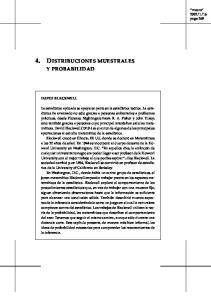4. DISTRIBUCIONES MUESTRALES