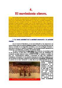4. El movimiento obrero