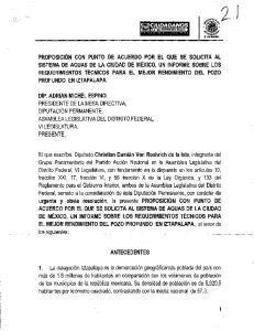 4. En la presente gestión del Sistema de Aguas de la Ciudad de México, se informó