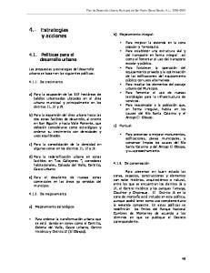 4.- Estrategias y acciones