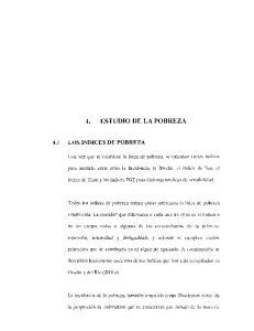 4. ESTUDIO DE LA POBREZA