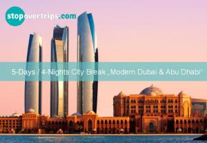 4-Nights City Break Modern Dubai & Abu Dhabi
