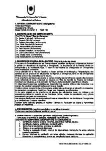 4. PRE-REQUISITOS (condiciones del alumno que inicia el cursado) Debe tener aprobada la Materia Medicina Interna I