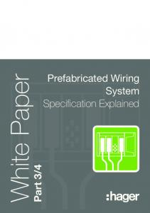 4. Prefabricated Wiring System Specification Explained
