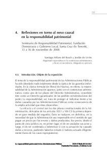 4. Reflexiones en torno al nexo causal en la responsabilidad patrimonial