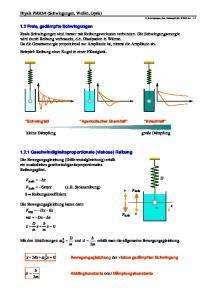 4 (Schwingungen, Wellen, Optik)