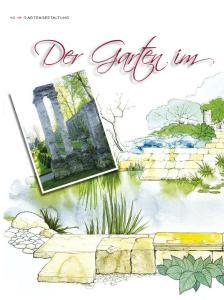 40  GARTENGESTALTUNG Der Garten im
