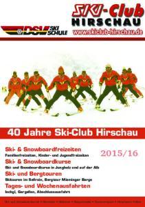 40 Jahre Ski-Club Hirschau