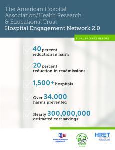 40 percent reduction in harm. 20 percent reduction in readmissions