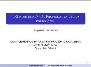 4.3. PROPIEDADES DE LOS