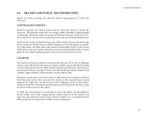 4.4 TRANSIT AND PUBLIC TRANSPORTATION