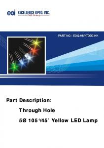 45 Yellow LED Lamp