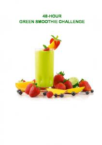48-HOUR GREEN SMOOTHIE CHALLENGE