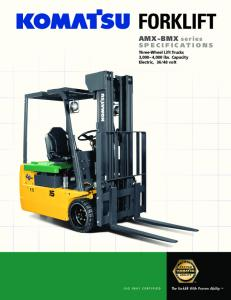 48 volt. The Forklift With Proven Ability