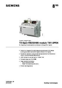 485 module TXI1.OPEN