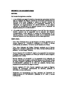 4B0000 MATERIA: Se formulan las siguientes consultas:
