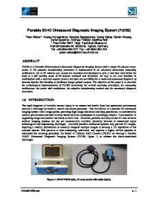 4D Ultrasound Diagnostic Imaging System (PUDIS)