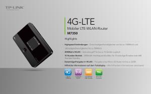 4G-LTE Mobiler LTE-WLAN-Router M7350